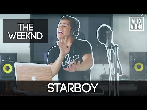 Starboy by The Weeknd ft Daft Punk | Alex Aiono Cover (видео)