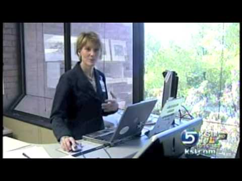 Treadmill Desk from TrekDesk at University of Utah