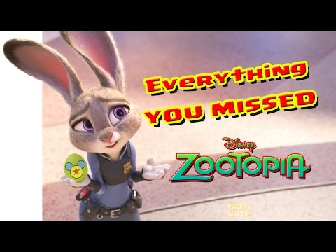 ZOOTOPIA, Everything You Missed