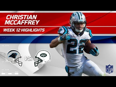 Video: Christian McCaffrey's 97 Yards on 9 Touches vs. NY! | Panthers vs. Jets | Wk 12 Player Highlights