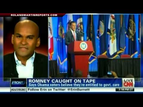 ROMNEY CAUGHT ON TAPE: Obama Voters Are Entitled To Government Care, Don't Pay Taxes