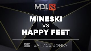 Mineski vs Happy Feet, MDL SEA Quals, game 1 [LightOfHeaveN]