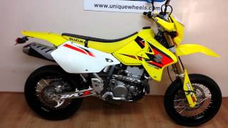 7. Suzuki DRZ 400 SM 2005 only 2000 miles incredible condition