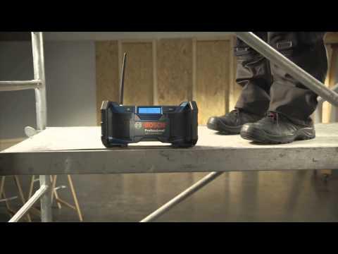 Bosch Akku-Baustellenradio GML SoundBoxx