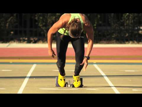 lolo jones - ASICS Hurdler Lolo Jones takes you through a day of training and her drive to get what she has been working so hard to gain for 12 years.