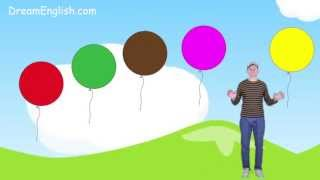 Learn 9 Colors, Color Song for Kids