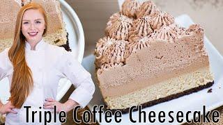 Triple Coffee Cheesecake by Tatyana's Everyday Food