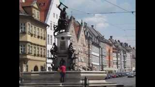 Augsburg Germany  city photos gallery : Augsburg, Germany: A historic city in Bavaria