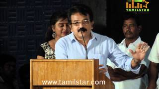 Samuthirakani and KR at Kannakkol Movie Audio Launch
