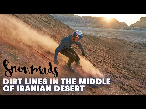 Snowmads: Skiing Epic Dirt Lines in the Middle of the Desert