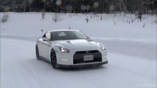 2014 Nissan GT-R Snow Testing