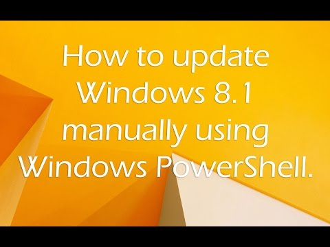 Download the Windows 81 Update Power User Guide