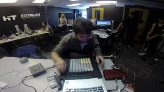 Jam in class on an Ableton Push controller