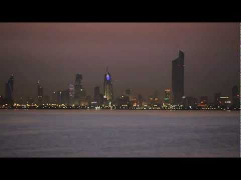 Beautiful Kuwait Timelaps