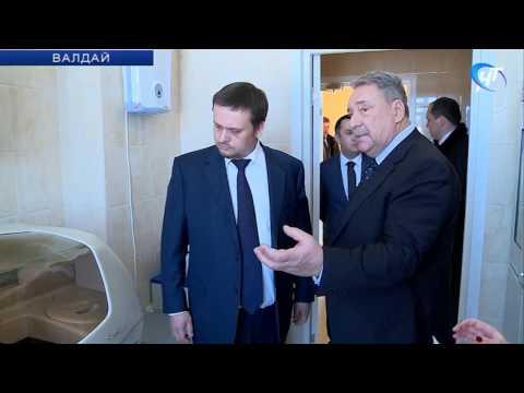 Андрей Никитин также посетил филиал Санкт-Петербургской Клинической больницы № 122 имени Соколова