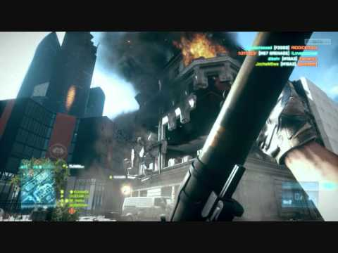 Battlefield 3 BETA RPG Destrukce