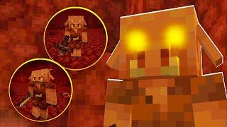 New PIGLINS & HOGLINS Nether MOBS! Features! - Minecraft 1.16 Nether Update