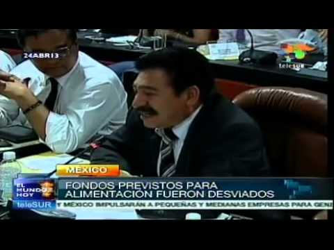 Mexican government confronts first corruption scandal