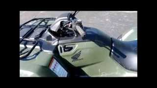 9. How to Manually Shift a Honda Rancher ATV Automatic Gear Shifting will not work Fix Problem Will