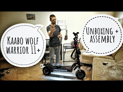 KAABO Wolf Warrior 11+ Unboxing + Assembly
