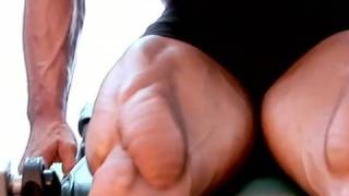 Justin Wilcox - quads workout