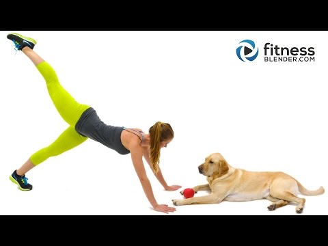 At Home 10 Minute Butt & Thigh Workout – FB Raw