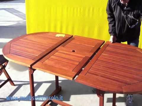 Tavolo da Giardino Pieghevole Kera