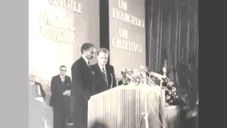 Historic Video Billy Graham Presents HIM Haile Selassie I Of Ethiopia  Berlin | Octob