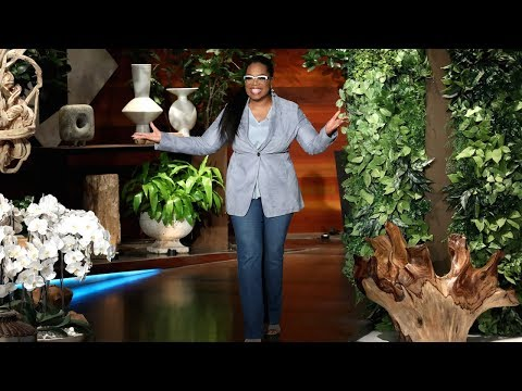 Oprah Finally Has Celebrity Friends, Thanks to Ellen (видео)