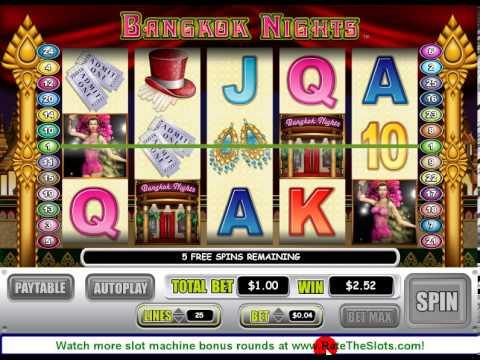 Bangkok Nights Slot Machine Bonus Round