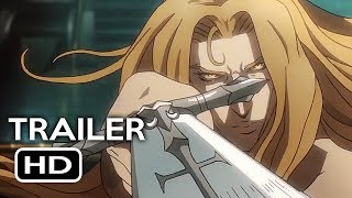 Castlevania Official Trailer #1 (2017) Animated Netflix TV Series HD