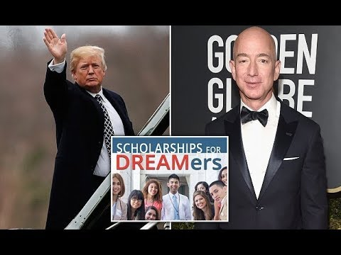 Amazon CEO Jeff Bezos contributes $33million to Dreamers