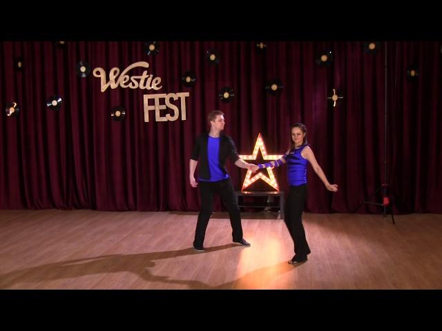 Rising Stars Routines — Konstantin Baranov & Maria Slivenko. Moscow Westie Fest 2016