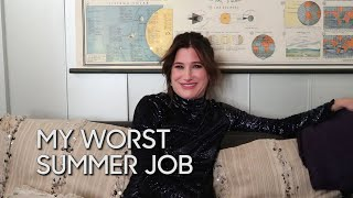 Kathryn Hahn tells us about a job at a restaurant that made her smell like hummus for a whole summer and another job that had her doing the worst kind of fishing.Subscribe NOW to The Tonight Show Starring Jimmy Fallon: http://bit.ly/1nwT1aNWatch The Tonight Show Starring Jimmy Fallon Weeknights 11:35/10:35cGet more Jimmy Fallon: Follow Jimmy: http://Twitter.com/JimmyFallonLike Jimmy: https://Facebook.com/JimmyFallonGet more The Tonight Show Starring Jimmy Fallon: Follow The Tonight Show: http://Twitter.com/FallonTonightLike The Tonight Show: https://Facebook.com/FallonTonightThe Tonight Show Tumblr: http://fallontonight.tumblr.com/Get more NBC: NBC YouTube: http://bit.ly/1dM1qBHLike NBC: http://Facebook.com/NBCFollow NBC: http://Twitter.com/NBCNBC Tumblr: http://nbctv.tumblr.com/NBC Google+: https://plus.google.com/+NBC/postsThe Tonight Show Starring Jimmy Fallon features hilarious highlights from the show including: comedy sketches, music parodies, celebrity interviews, ridiculous games, and, of course, Jimmy's Thank You Notes and hashtags! You'll also find behind the scenes videos and other great web exclusives.http://www.youtube.com/fallontonight