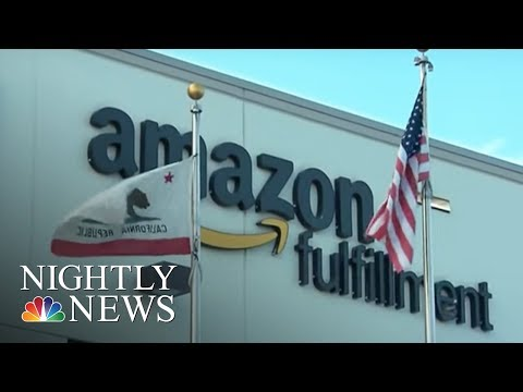 Online shopping trend creates boom towns across the U.S. | NBC Nightly News