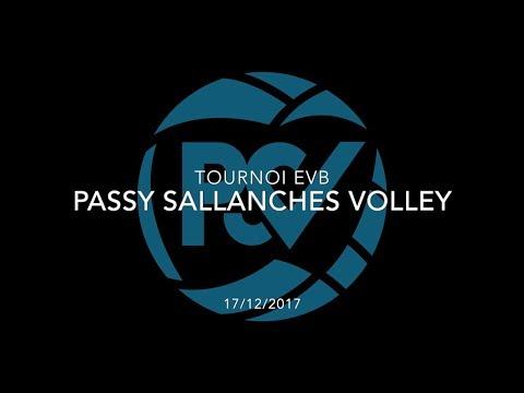 PASSY SALLANCHES VOLLEY | Tournoi EVB (17/12/2017)