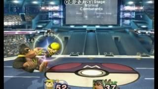 kalne(Ness,Wario,Zelda) vs donkos(Sonic,DK,Wolf) Ironman 3 characters