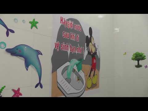 Nhà vệ sinh thân thiện - Trường TH Bãi Cháy