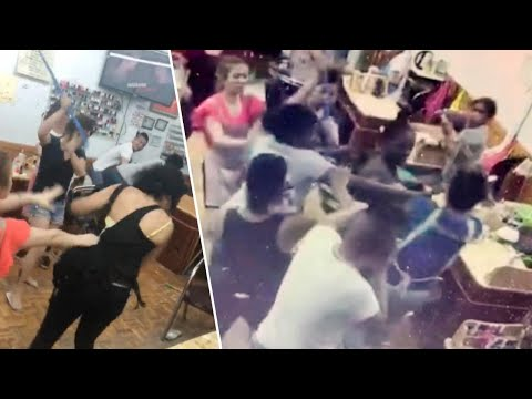 Brawl Erupts at New York Nail Salon After Customer Complains About Service