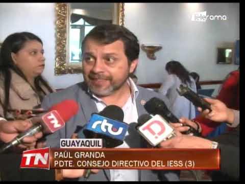 Granda: Área de diálisis de hospital del IESS de Guayaquil funciona al 100%