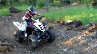 8. 2009 Yamaha Raptor 90