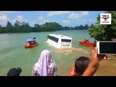 """Bas """"Dua Alam"""" Terengganu Mula Diuji di Sungai Terengganu - Bas Amfibia - Amphicoach"""