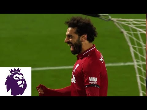 Salah Scores Again To Make It 5-0 For Liverpool Against Huddersfield | Premier League | NBC Sports
