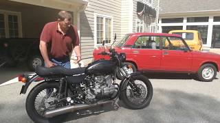 10. 2012 Ural Solo sT, Owners Experience, Ural of New England