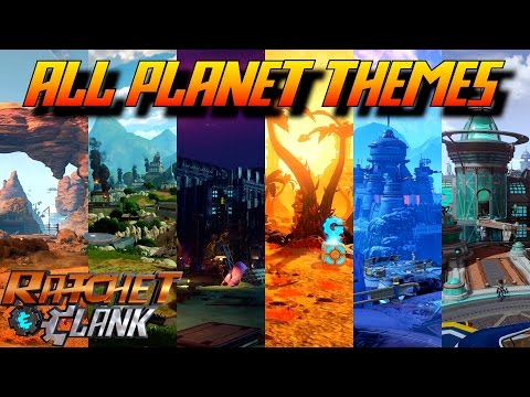 Ratchet and Clank PS4 - ALL Planet Soundtracks (Original OST)