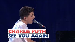 Video Charlie Puth - 'See You Again' (Live At Jingle Bell Ball 2015) MP3, 3GP, MP4, WEBM, AVI, FLV April 2018