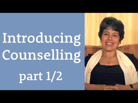 Introducing Counselling Part 1