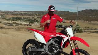 8. 2019 Honda CRF450RX, Best Off-Road Racer Ever?