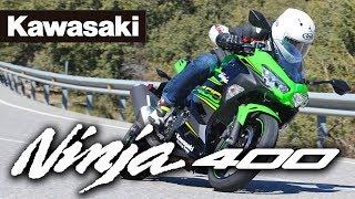 6. Kawasaki Ninja 400 2018: Prueba a fondo