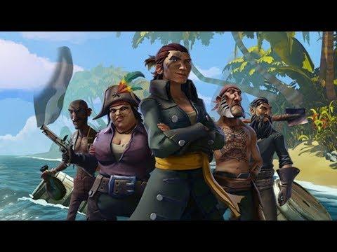БАНДА В МОРЕ! - Sea of Thieves #4